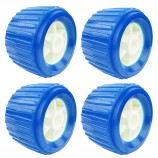 4PCS-Boat-Trailer-Roller-Marine-Inflatable-Boat-Ribbed-Wobble-Roller-Plastic