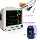 Patient Monitor Vital Sign Heart Cardiac ECG NIBP +SPO2 anesthetist Hospital CE