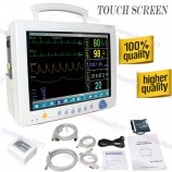 Touch ICU Patient Monitor Vital Sign ECG TEMP SPO2 NIBP RESP Pr 6 parameters,CE
