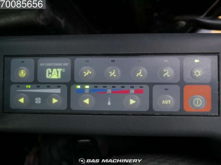 Caterpillar 321D VA LCR Track MP and HP function