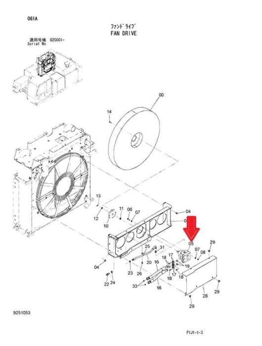 Farmall M Hydraulic Pump Diagram