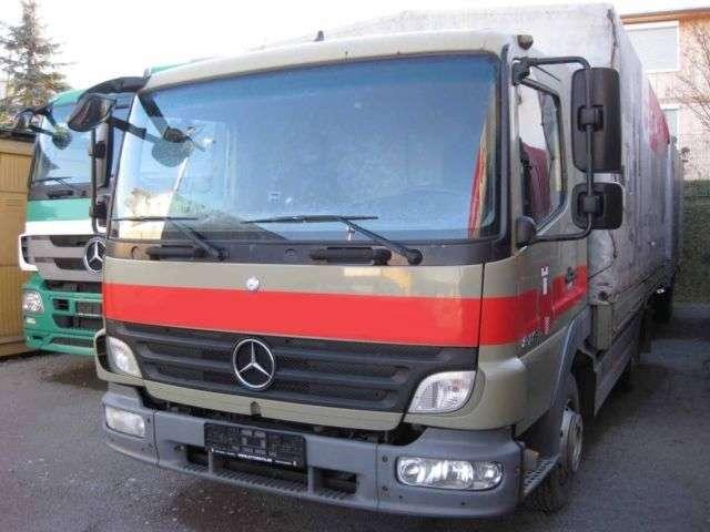 Mercedes Benz Atego Ii 818 Euro 5 Pritsche Plane 4 2m 2010