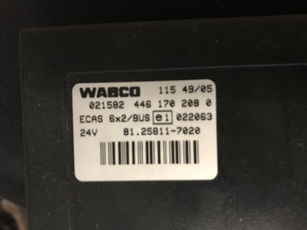WABCO Scania for truck,bus control unit for bus