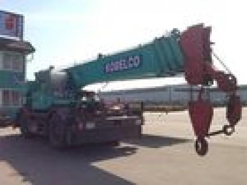 Grove on chassis KOBELCO - KOBELCO PANTHER RK350 USED JAPAN CRANE